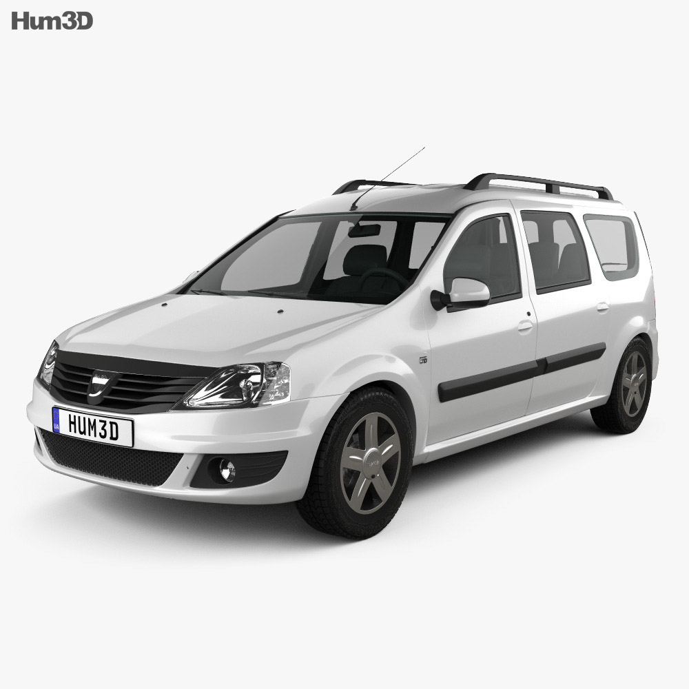 Dacia Logan MCV 2011 3d model