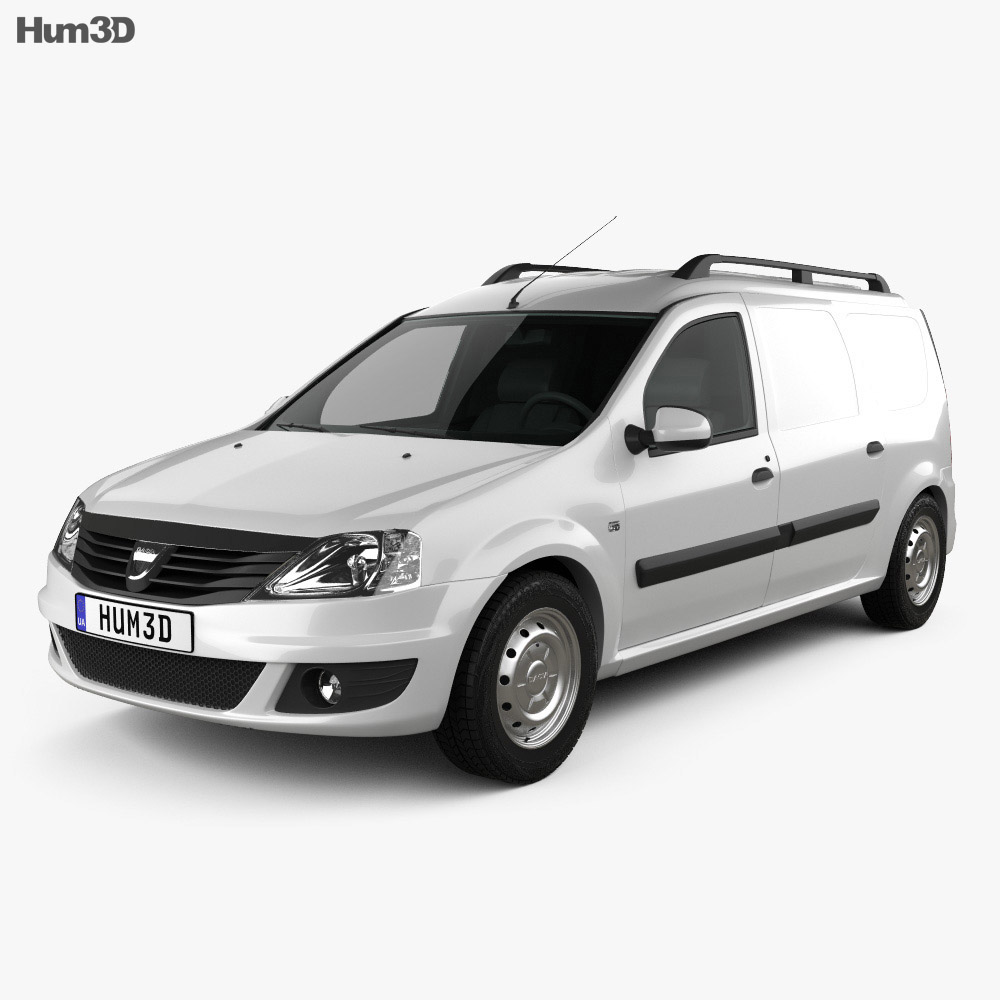 Dacia Logan Van 2011 3d model