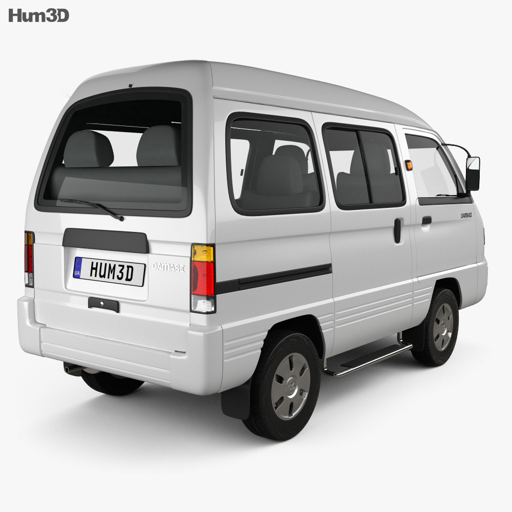 Daewoo Damas 2012 3d model