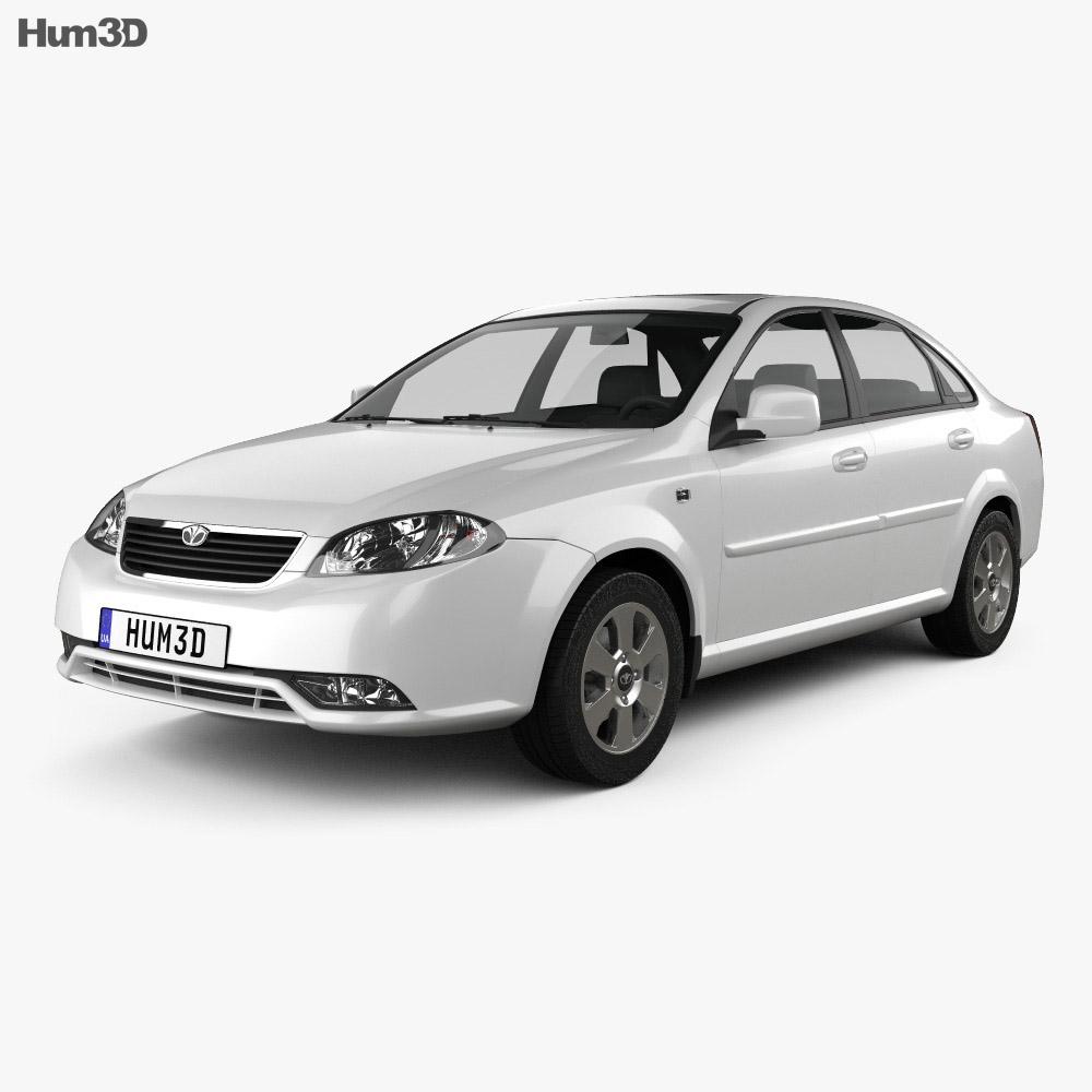 Daewoo Gentra 2013 3d model