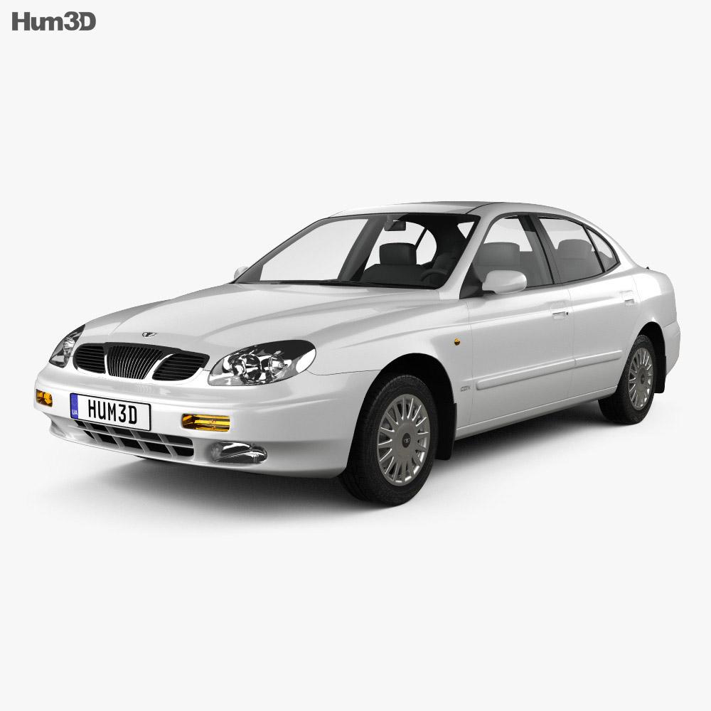 Daewoo Leganza (V100) 1997 3d model