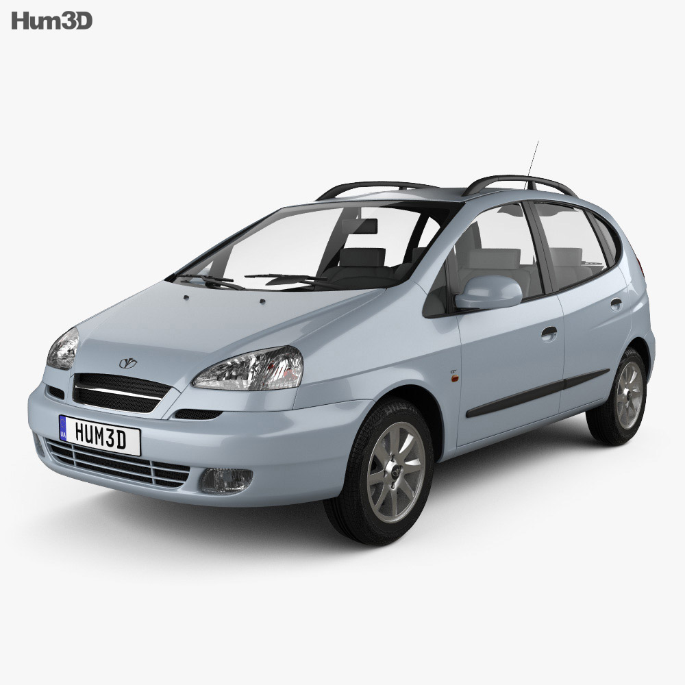 Daewoo Tacuma 2004 3d model