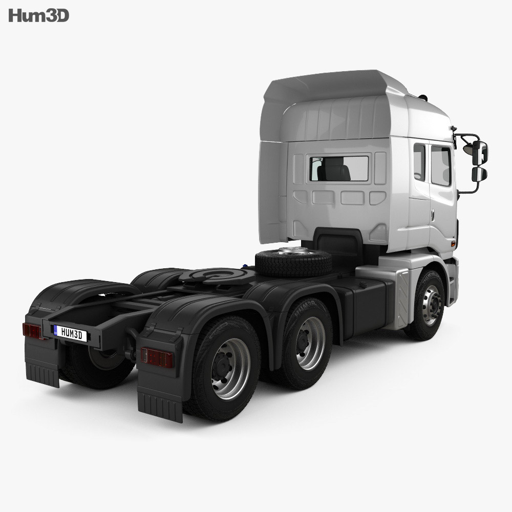 Daewoo Ultra Prima Tractor Truck 2008 3d model
