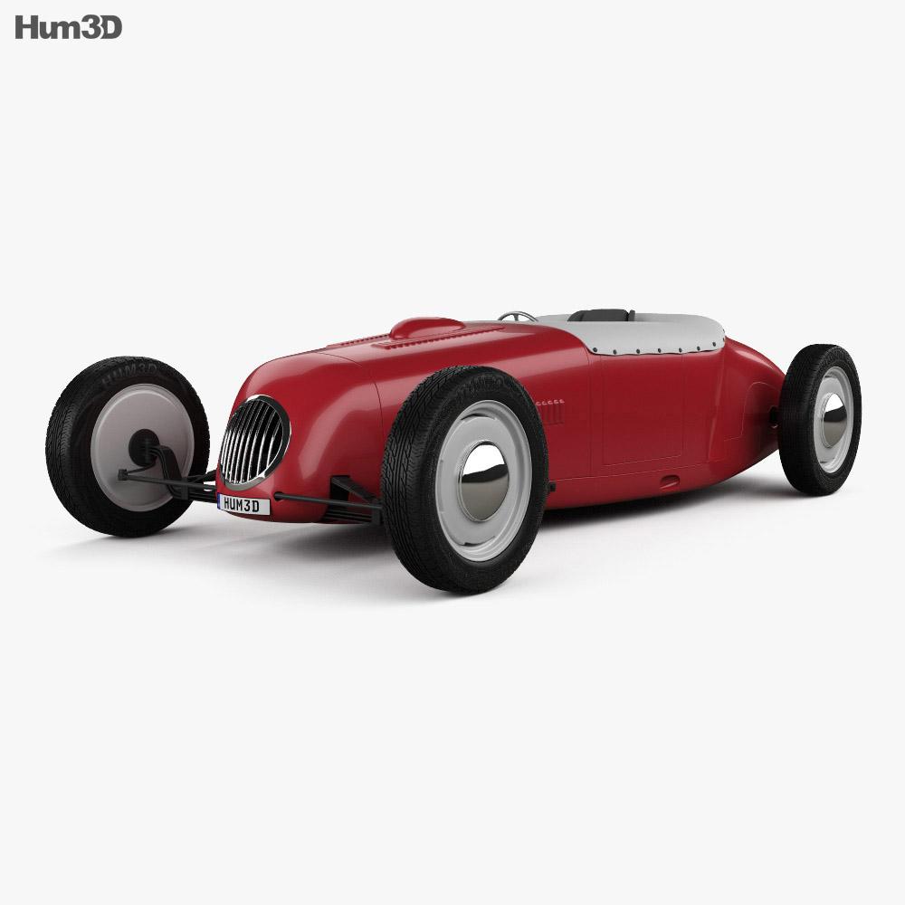 Dahm Brothers roadster 1927 3d model