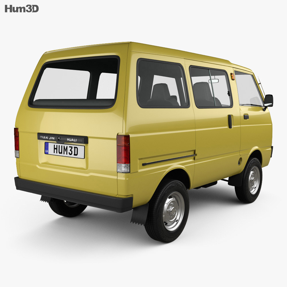 Daihatsu Hijet Tianjin TJ 110 1981 3d model