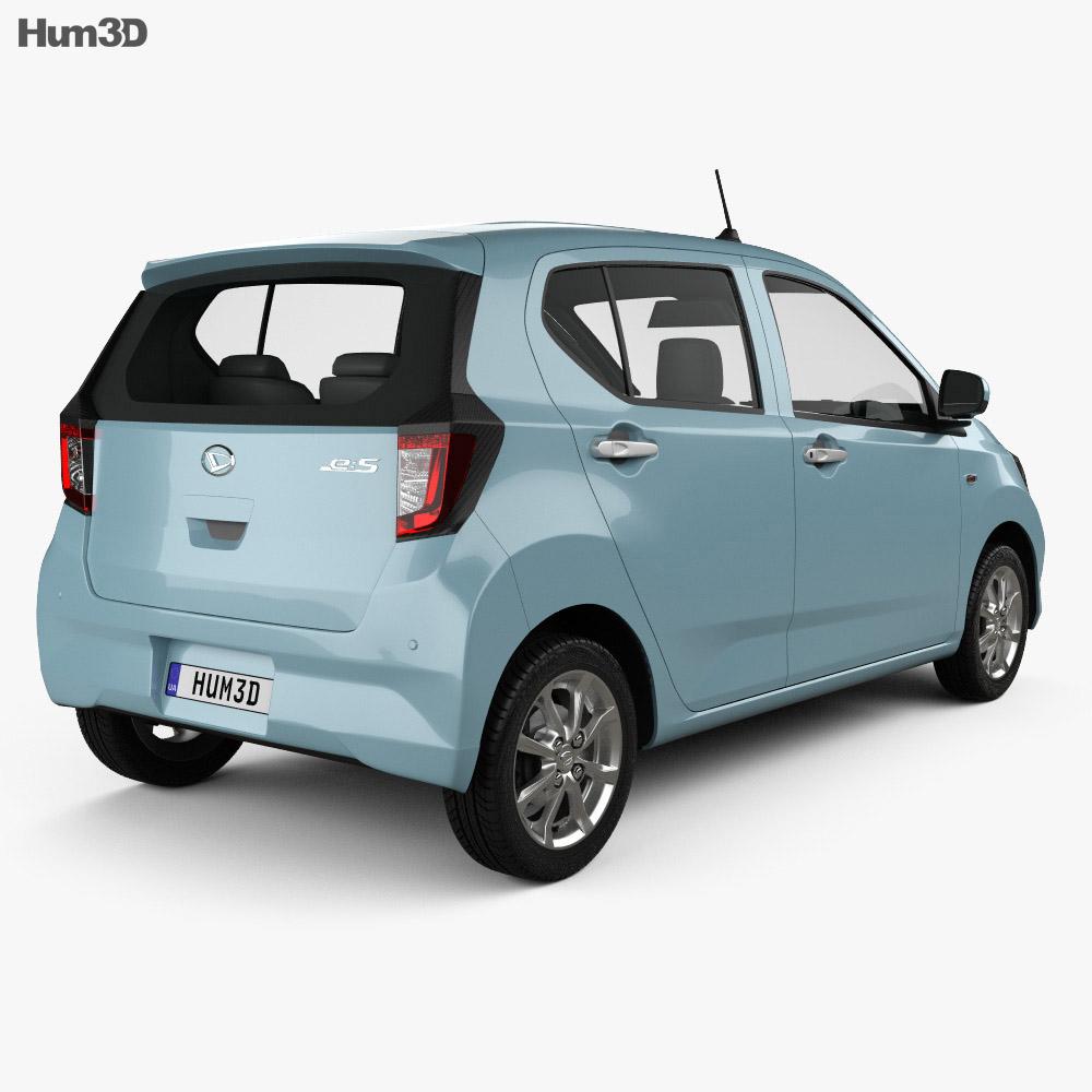 Daihatsu Mira e:S 2017 3d model