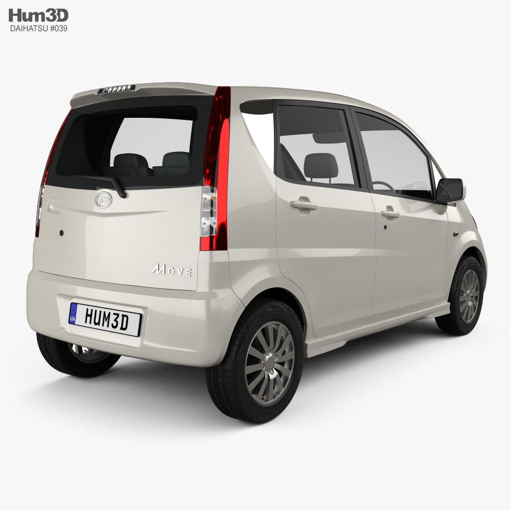 Daihatsu Move 2008 3d model