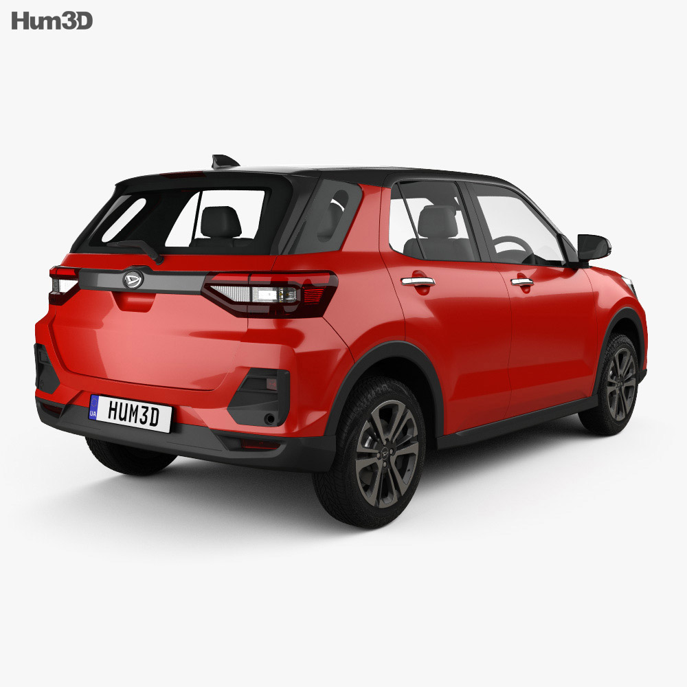 Daihatsu Rocky 2019 3d model