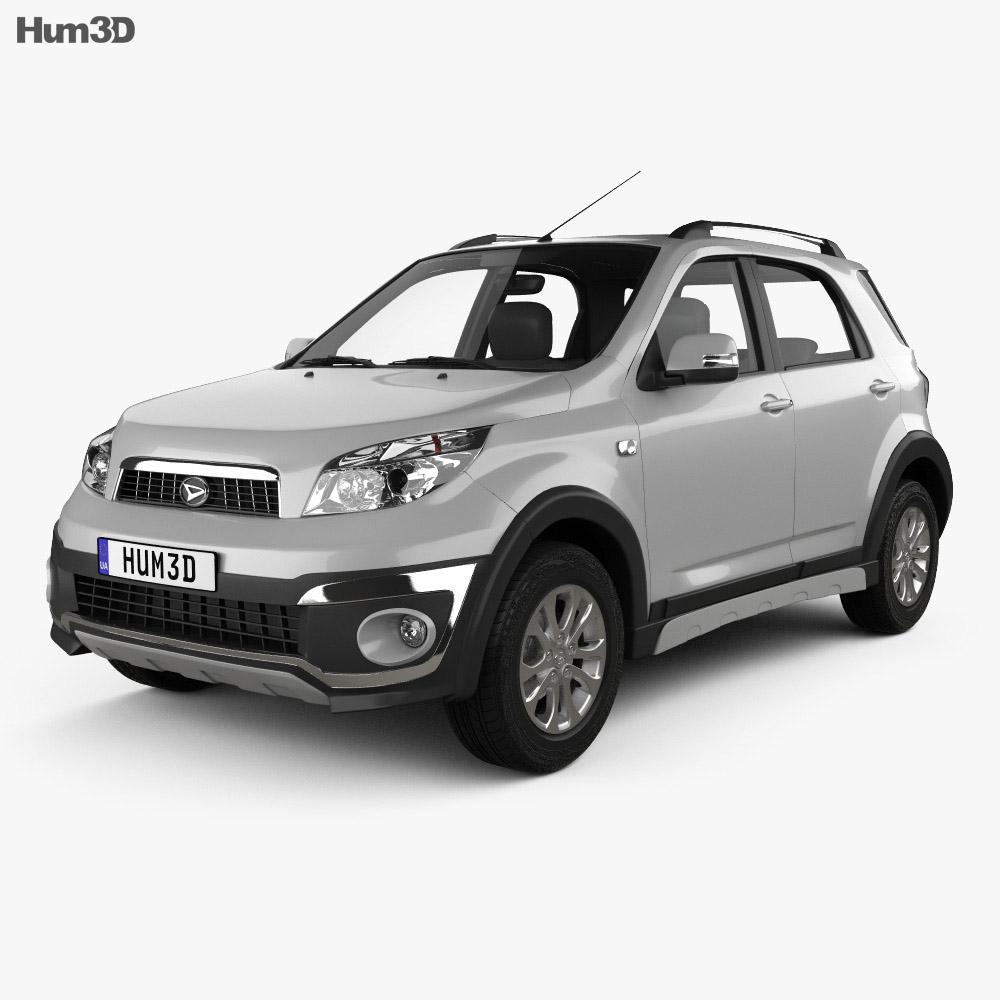 Daihatsu Terios 2013 3d model