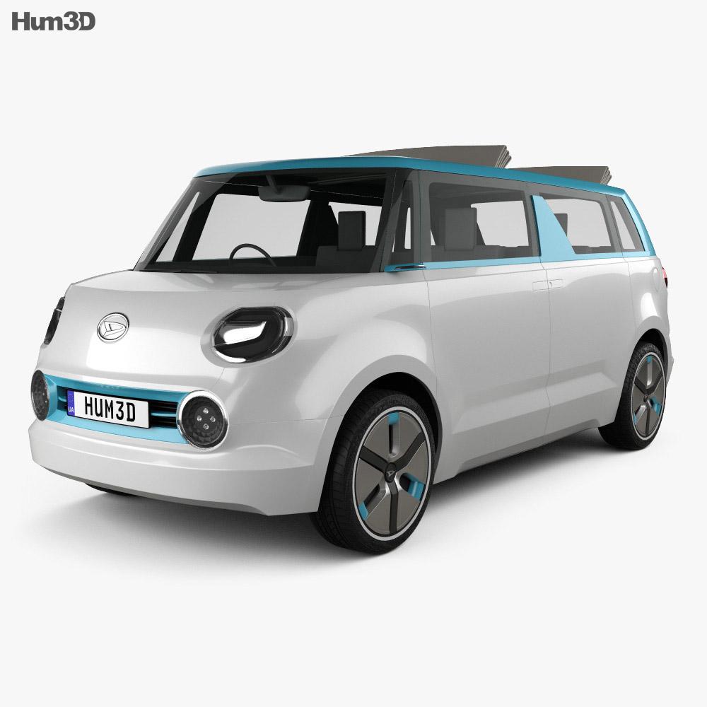 Daihatsu Wai Wai 2019 3d model