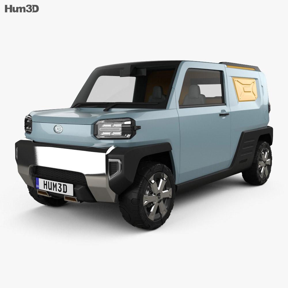 3D model of Daihatsu Waku Waku 2019