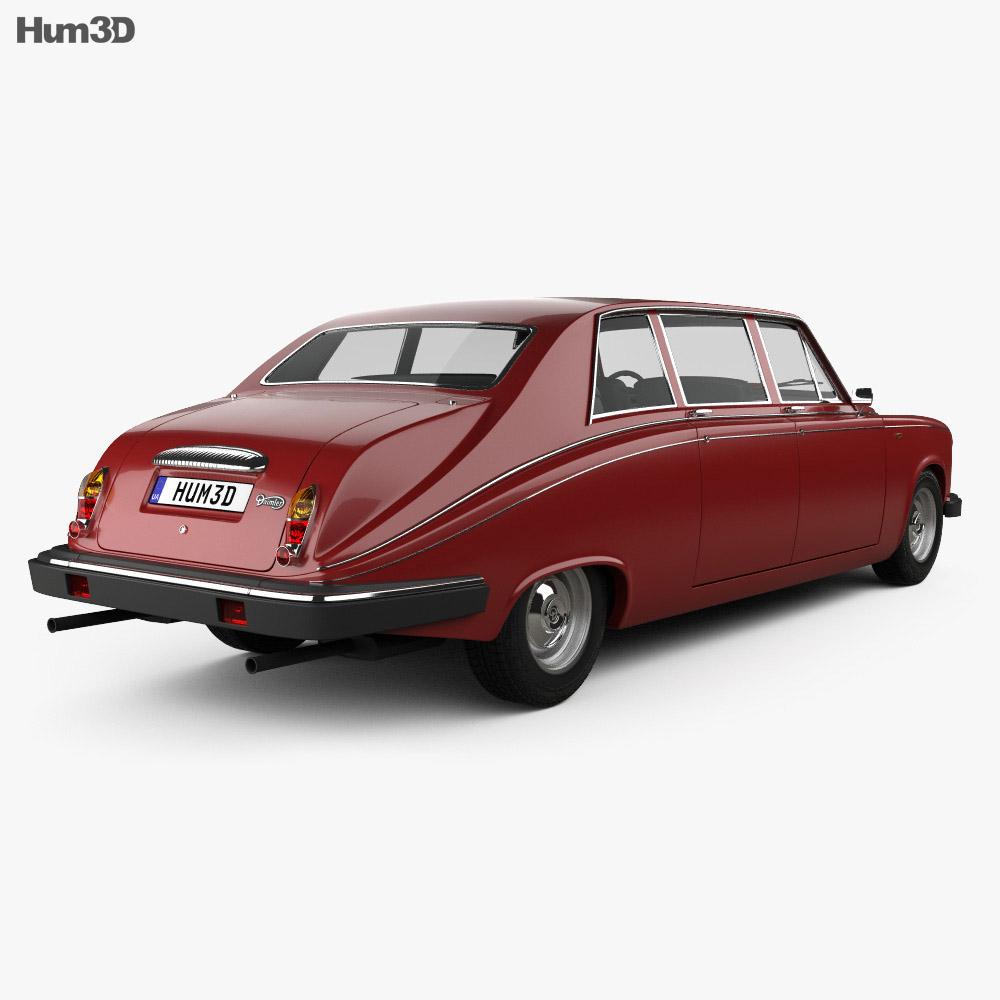 Daimler DS420 1987 3d model