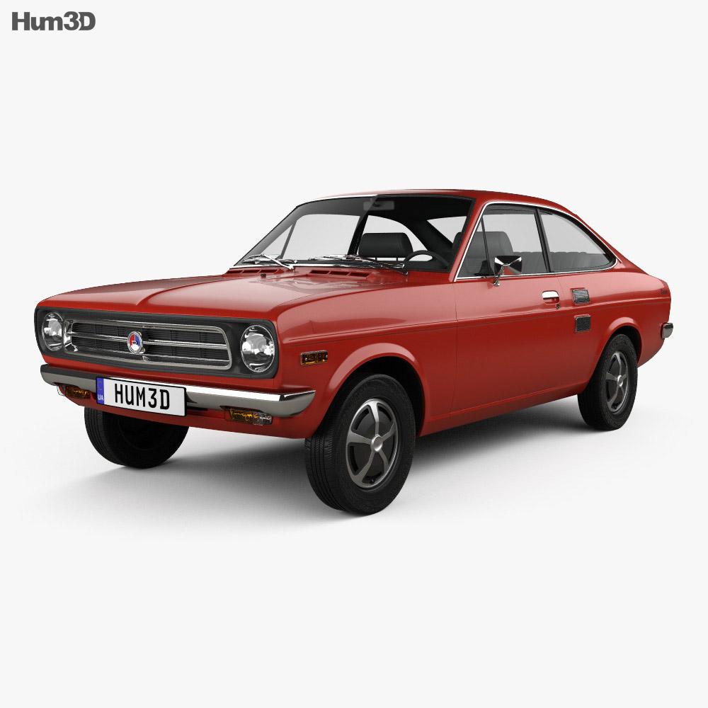 Datsun 1200 coupe 1970 3d model