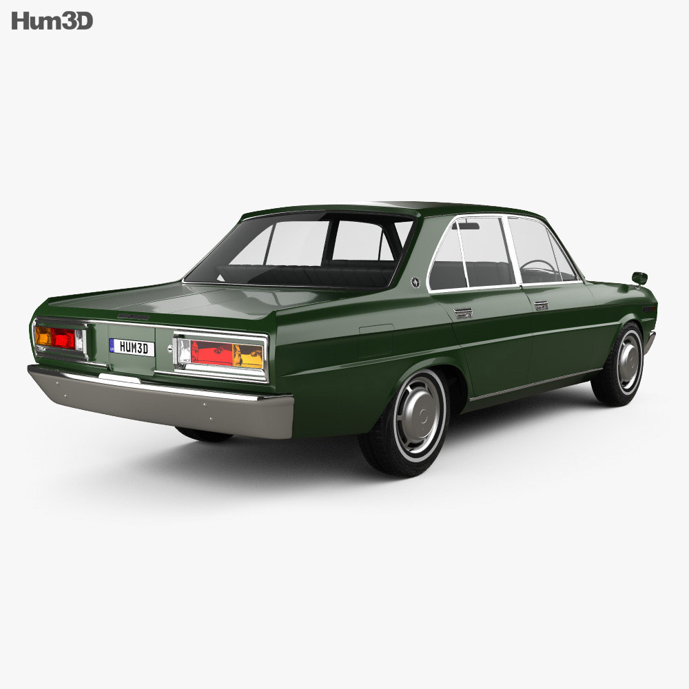 Datsun 2300 Super Six 1969 3d model