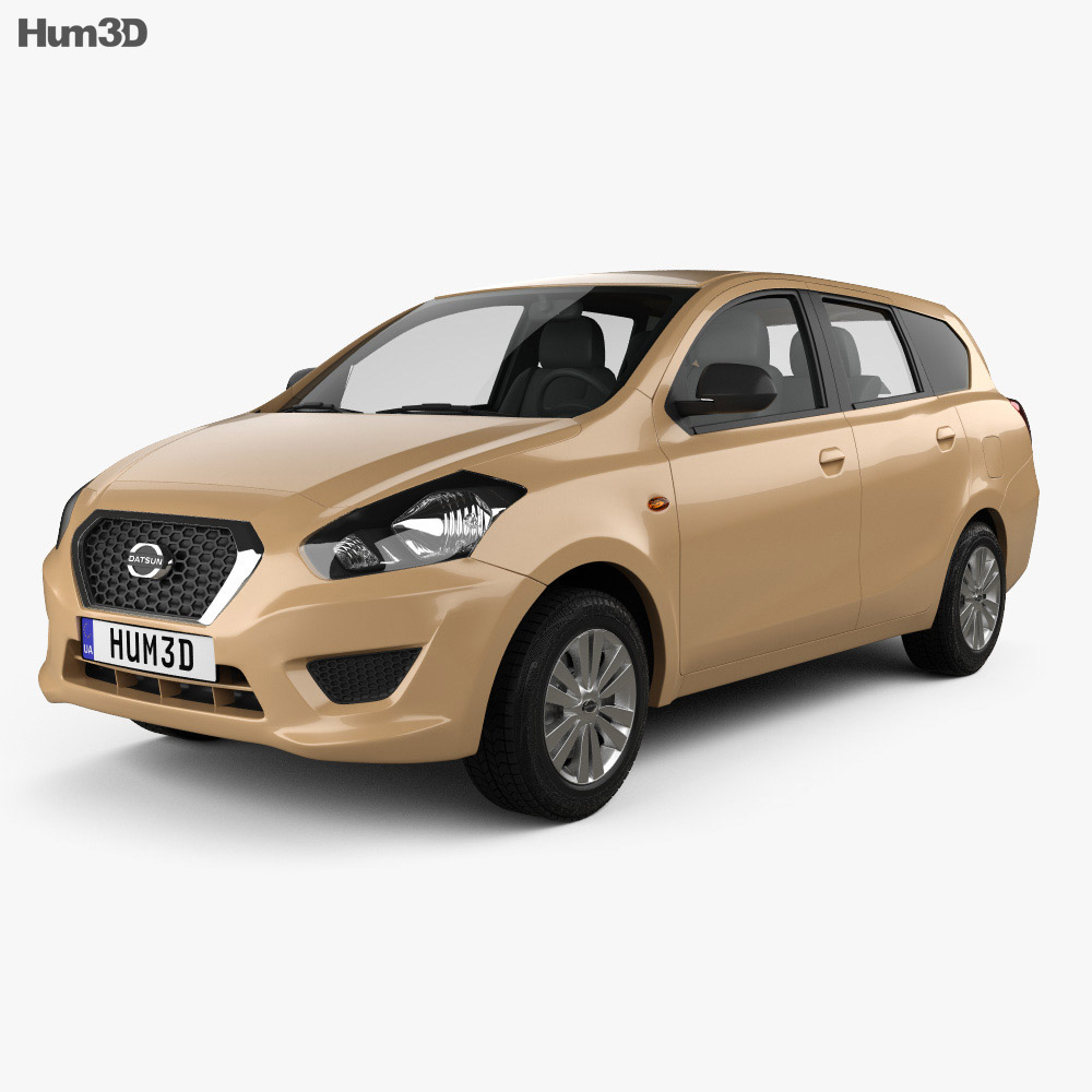 Datsun GO plus 2014 3d model