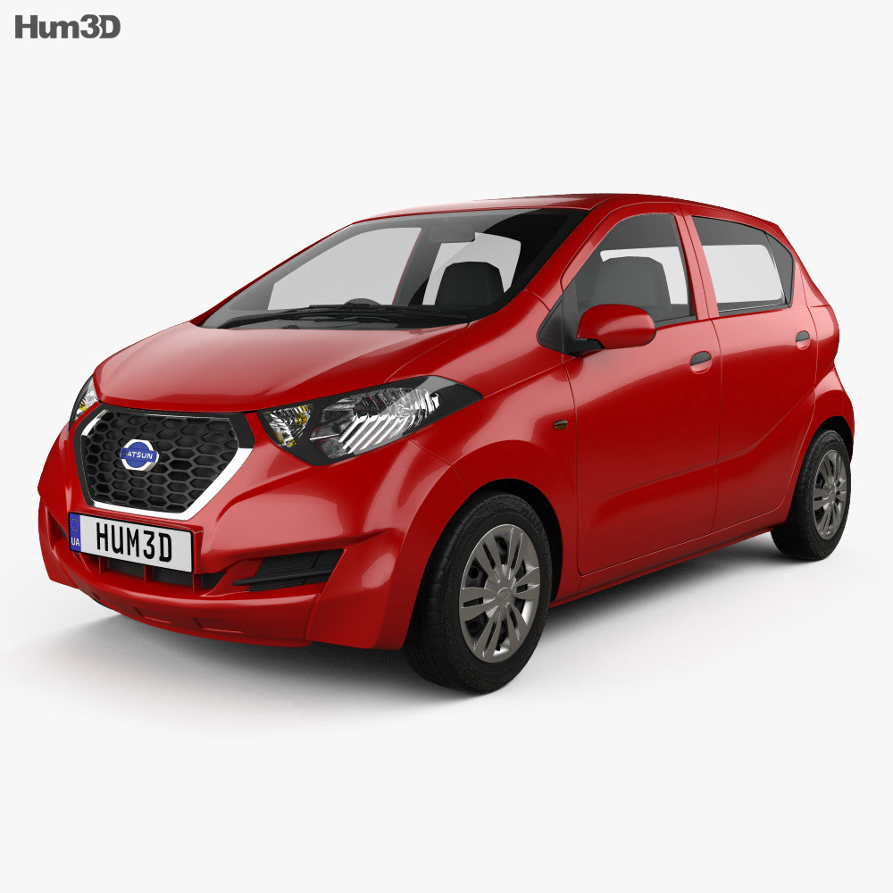 Datsun Redi GO 2016 3d model