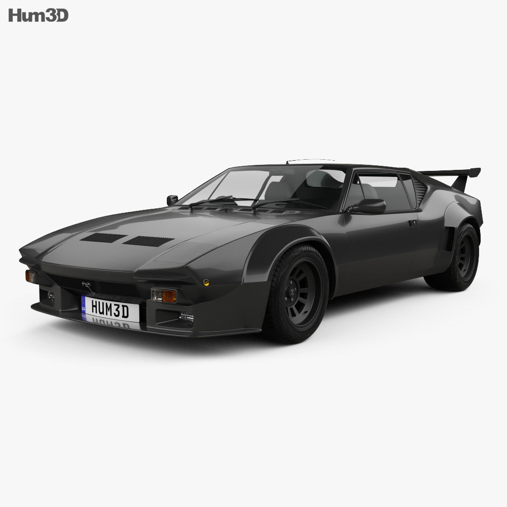 de tomaso pantera gt5 s 1984 3d model hum3d. Black Bedroom Furniture Sets. Home Design Ideas