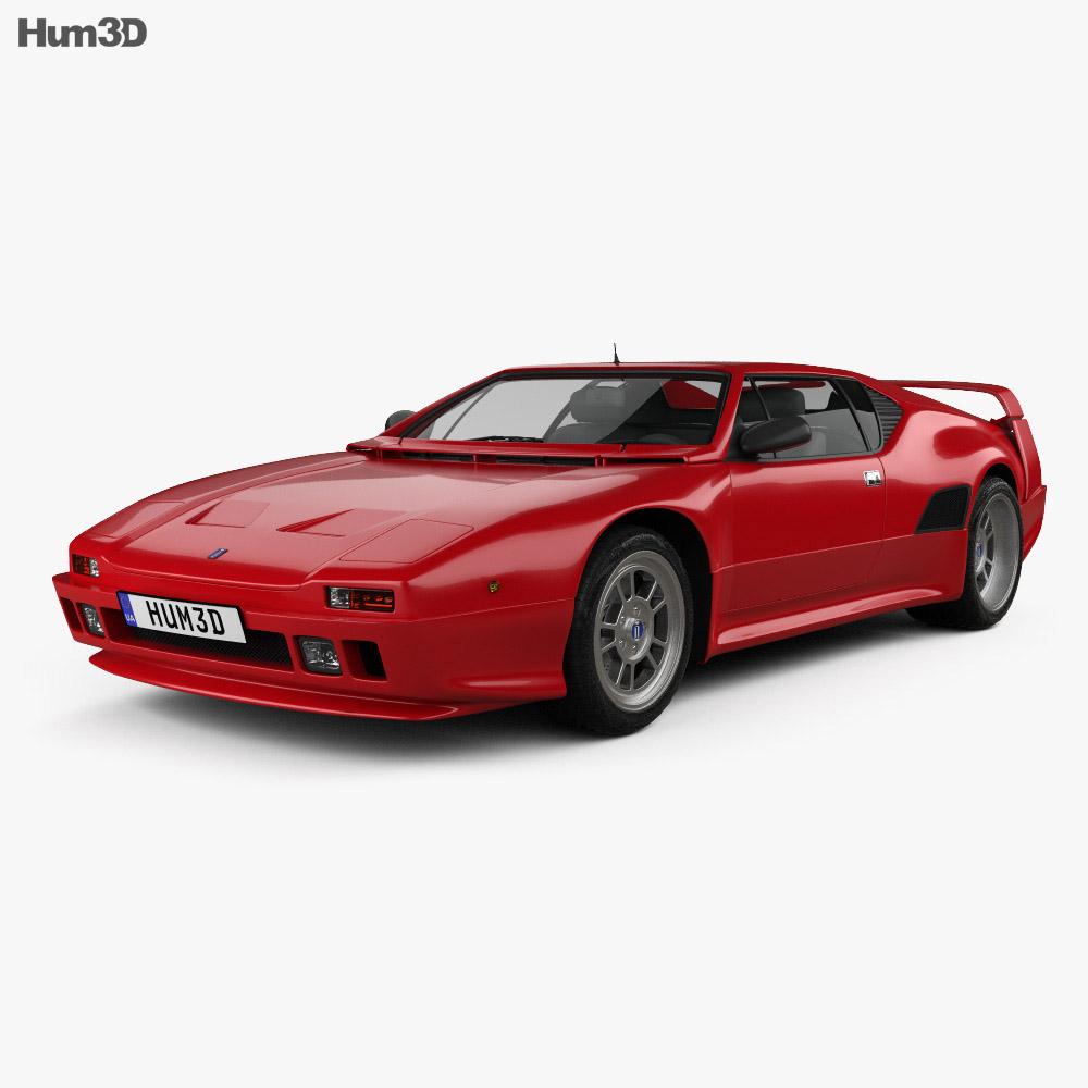 De Tomaso Pantera SI 1990 3d model