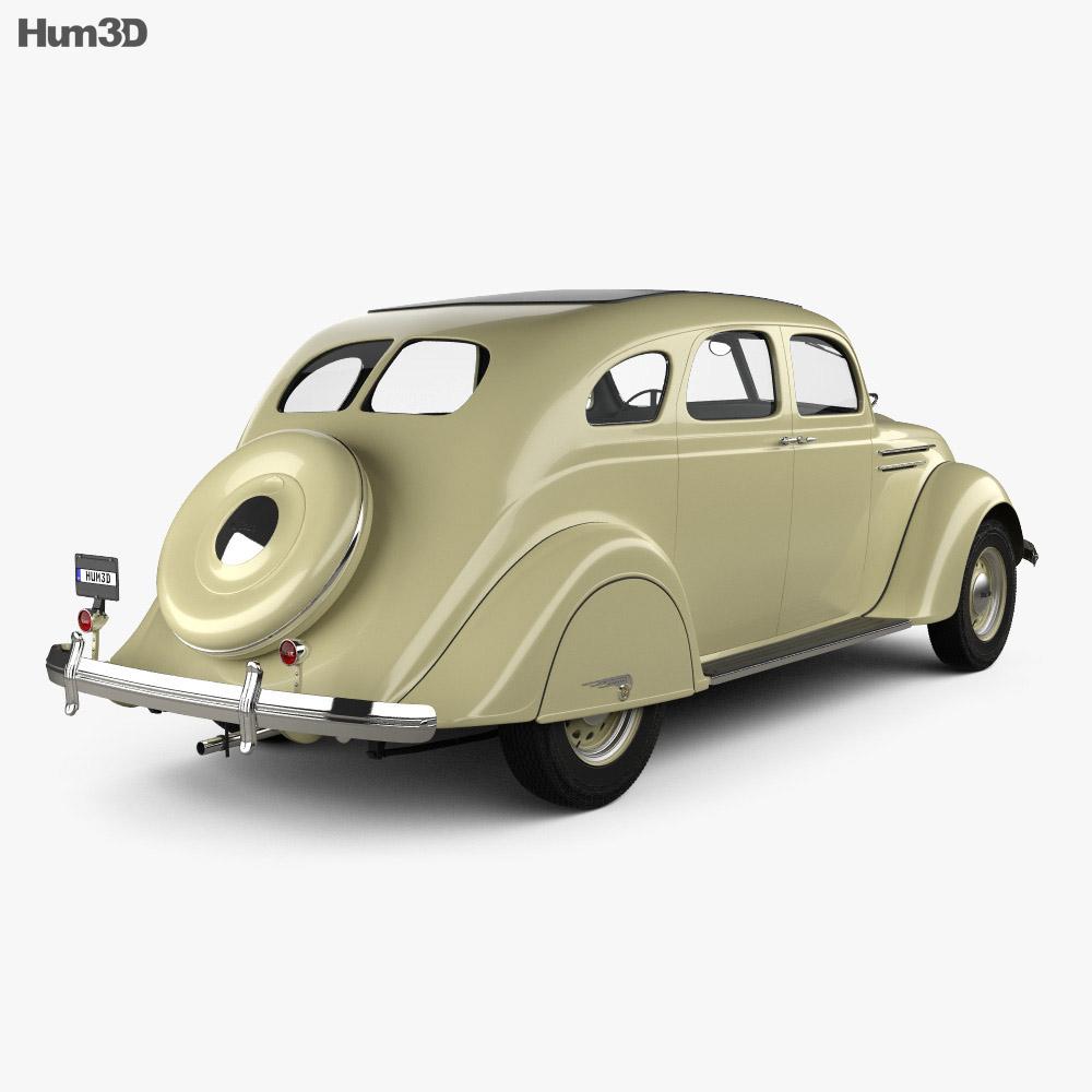 DeSoto Airflow Sedan 1935 3d model