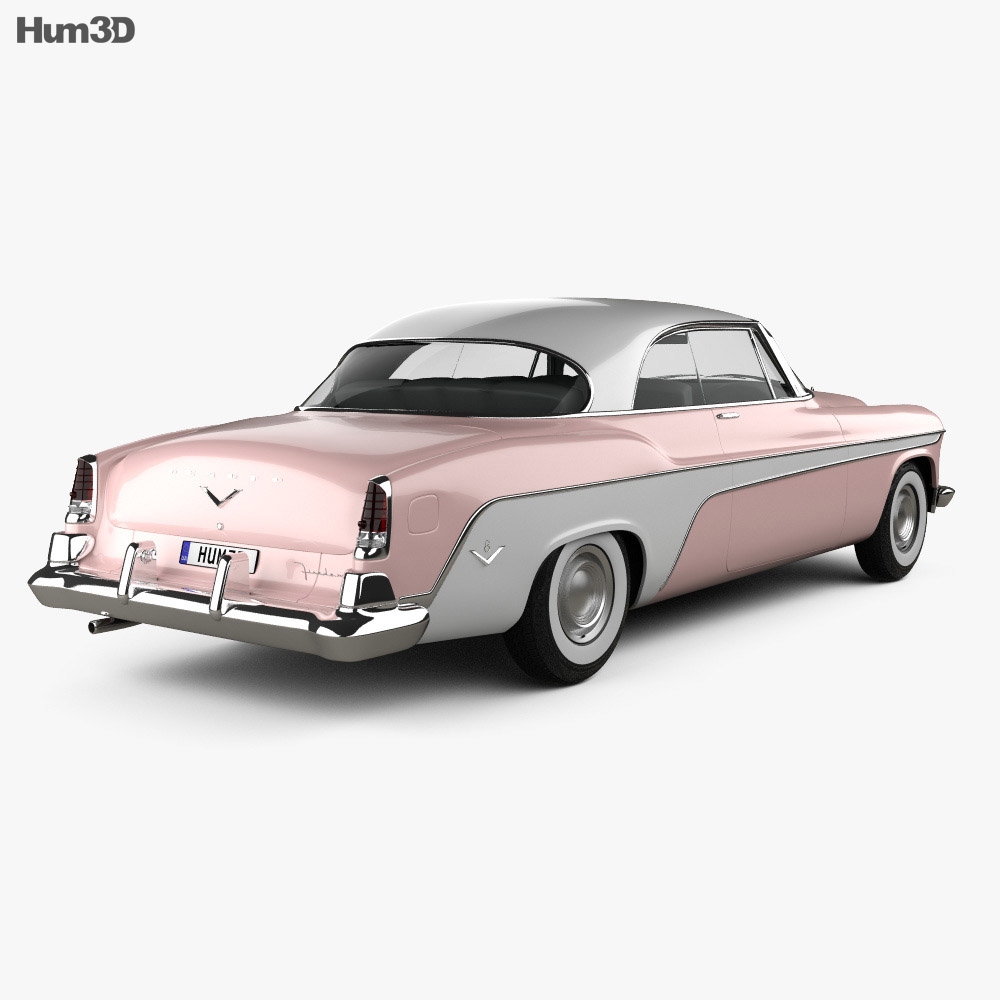 DeSoto Firedome Sportsman Hardtop Coupe 1955 3d model