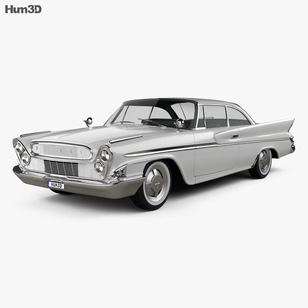 DeSoto Hardtop Coupe 1961 3d model