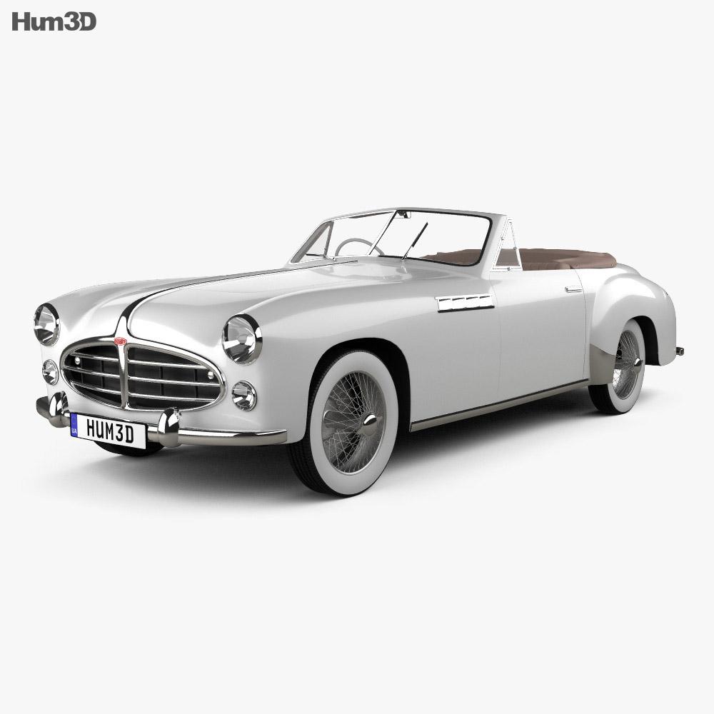 Delahaye 235 Chapron Cabriolet 1951 3d model