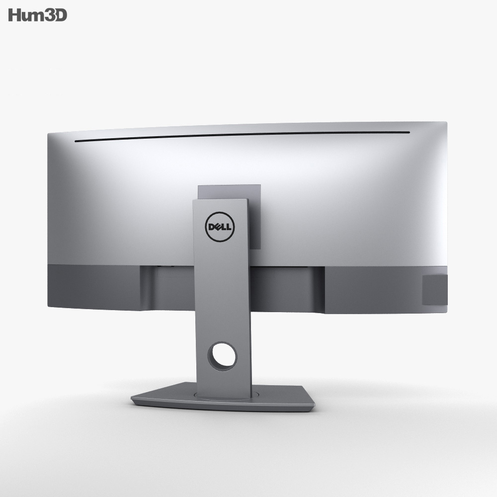 Dell 34-inch Curved Monitor U3419W 3d model