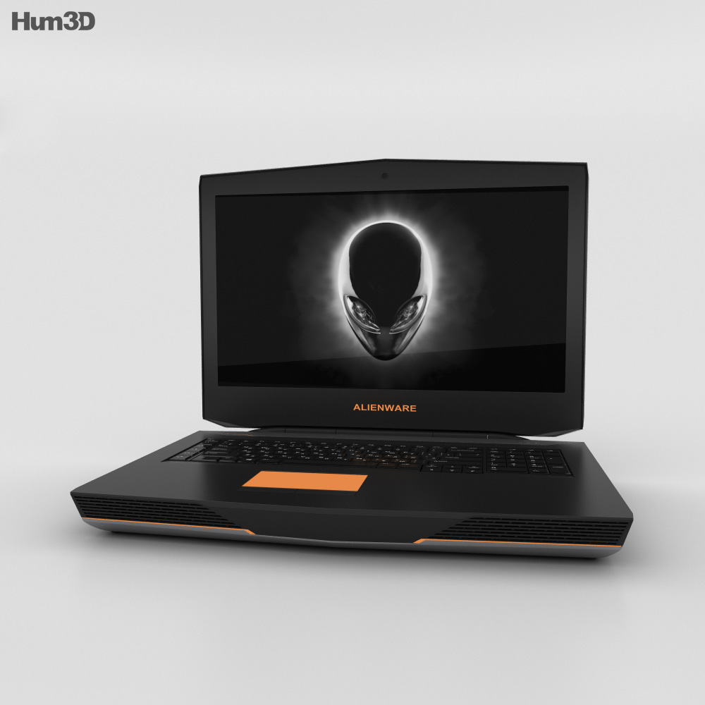 Dell Alienware 18 3d model