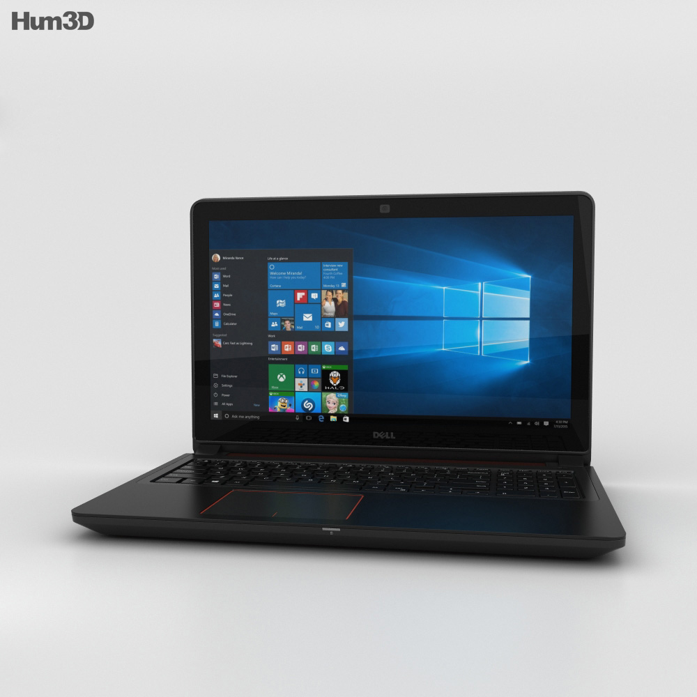 Dell Inspiron 15 7559 3d model