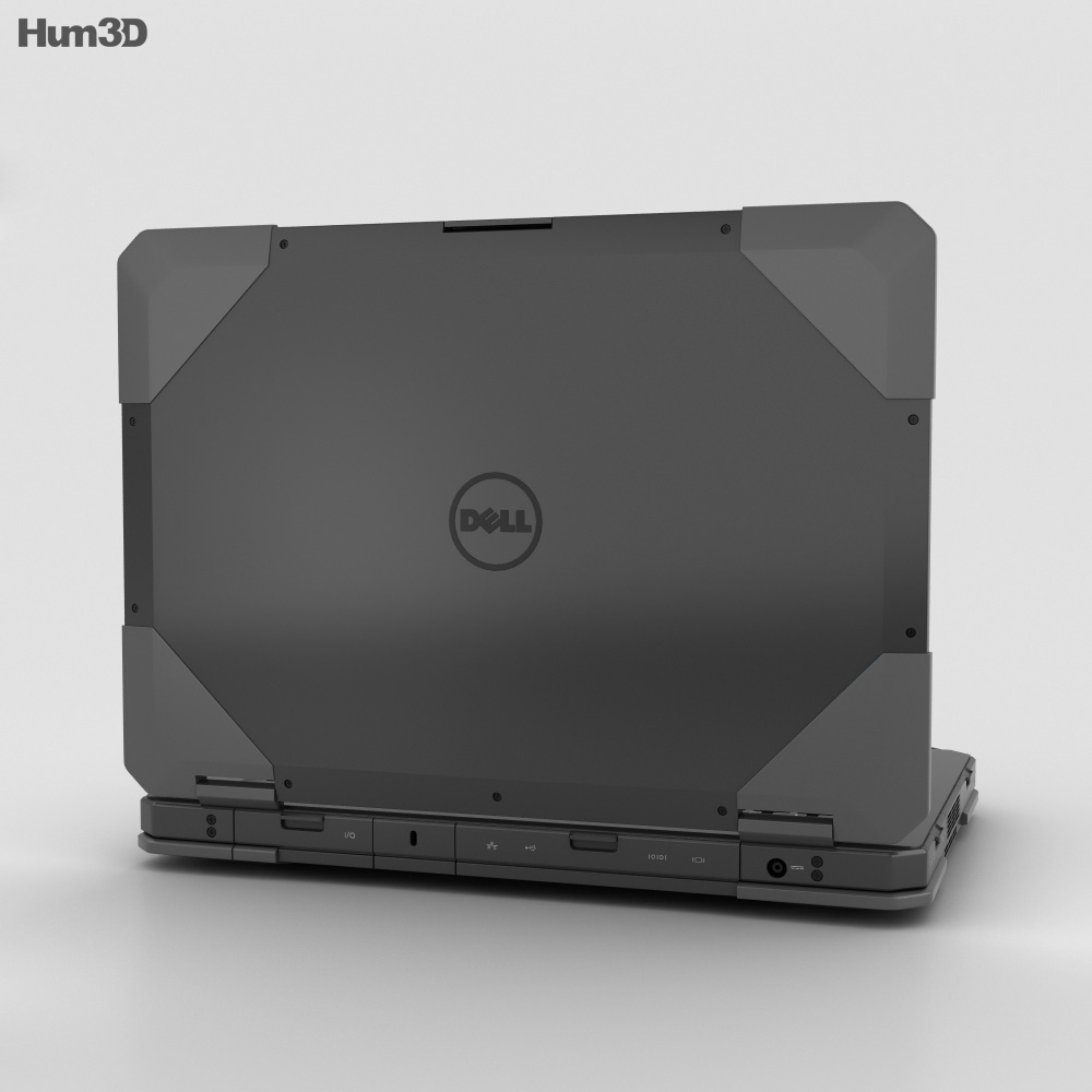 Dell Latitude 14 Rugged 3d model