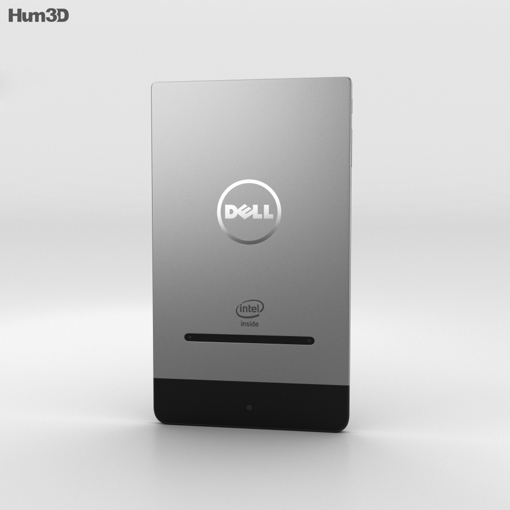 Dell Venue 8 7000 Black 3d model