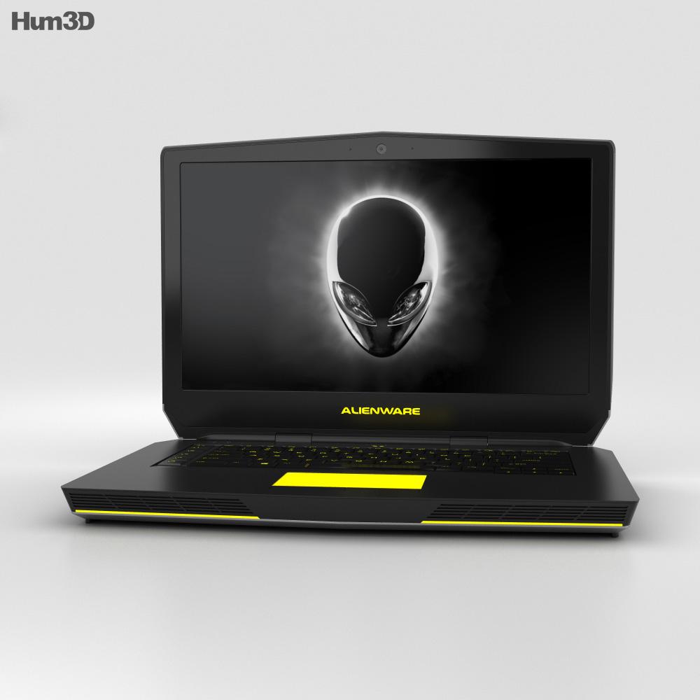 Dell Alienware 15 3d model