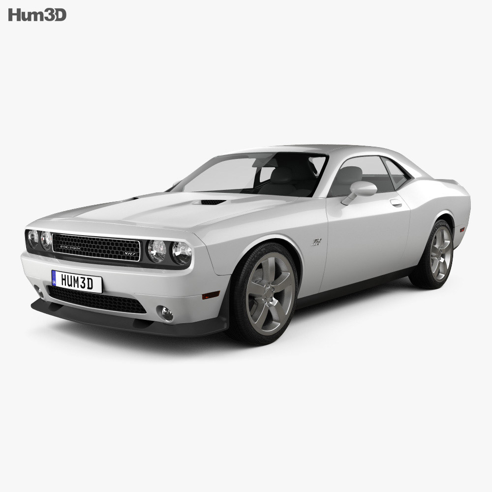 Dodge Challenger SRT8 2011 3d model
