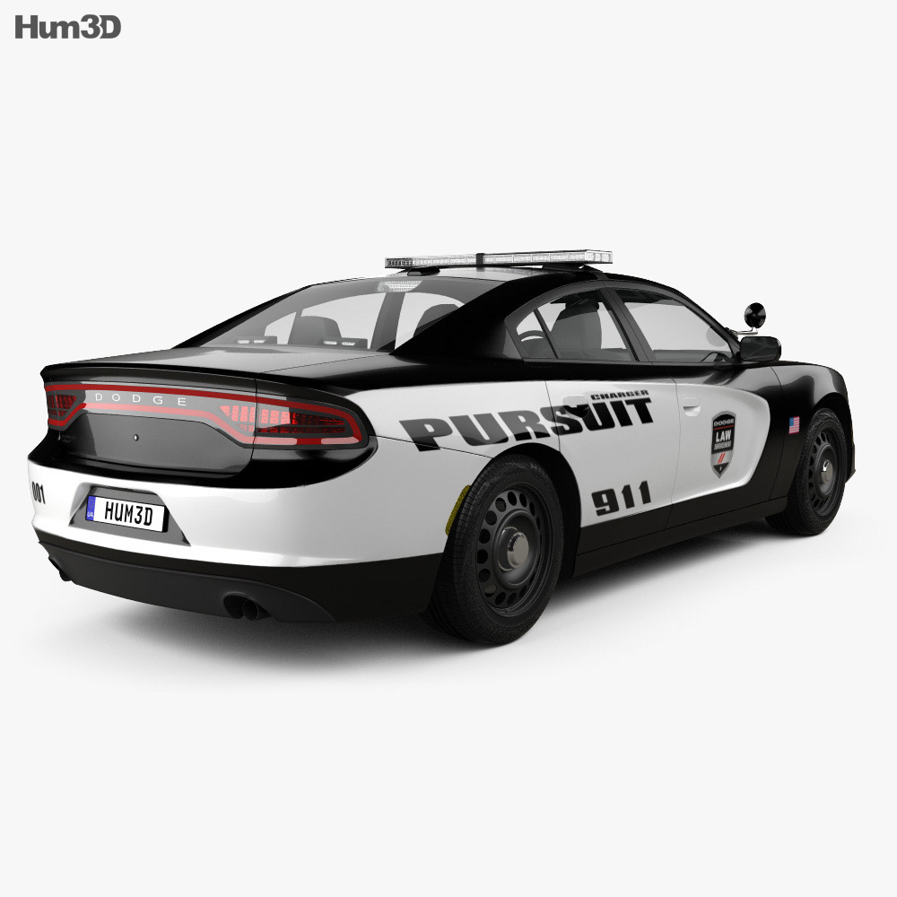 Dodge Charger Pursuit 2015 3d model