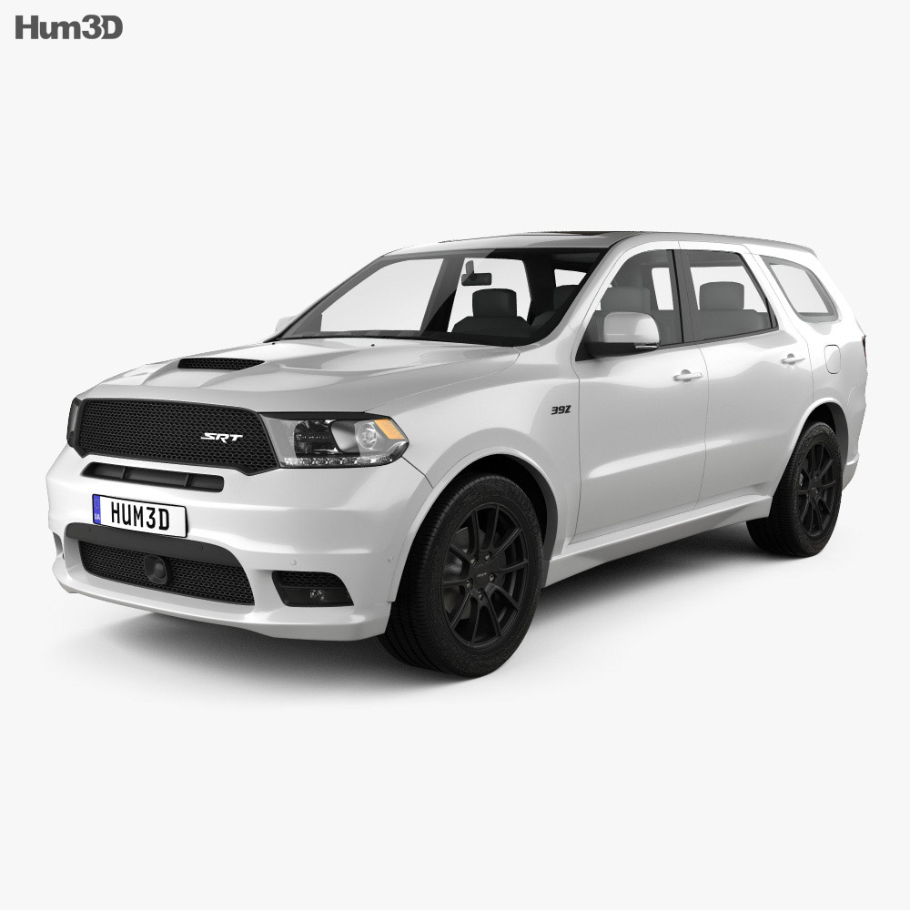 Dodge Durango SRT 2017 3d model