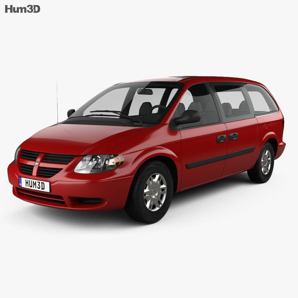 Dodge Grand Caravan 2004 3d model