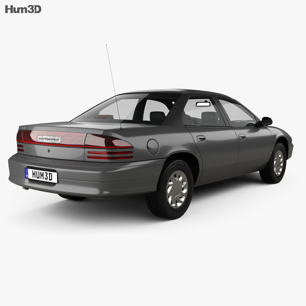 Dodge Intrepid 1993 3d model