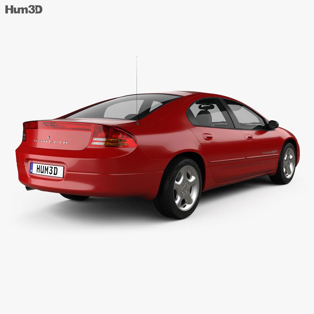 Dodge Intrepid RT 2001 3D Model