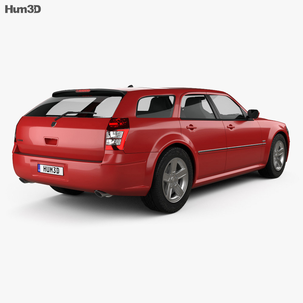 Dodge Magnum RT 2004 3d model