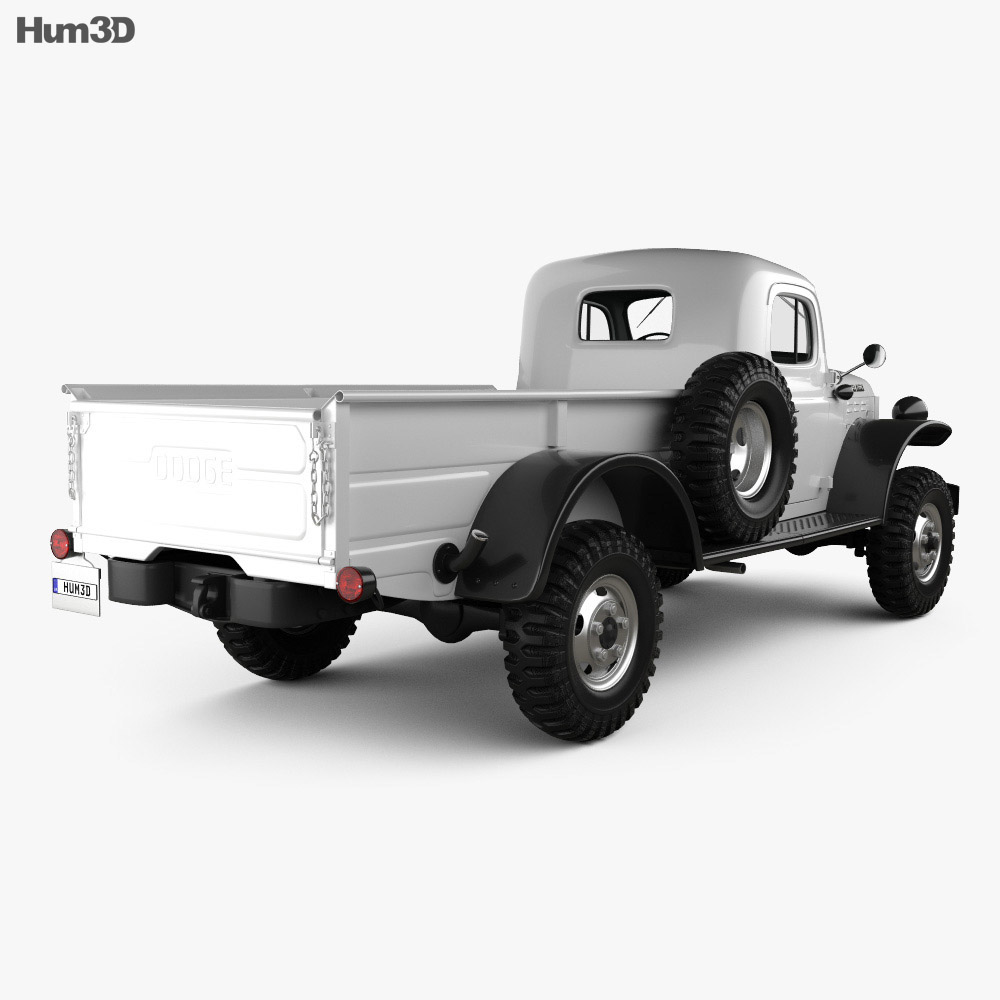 Dodge Power Wagon 1946 3d model
