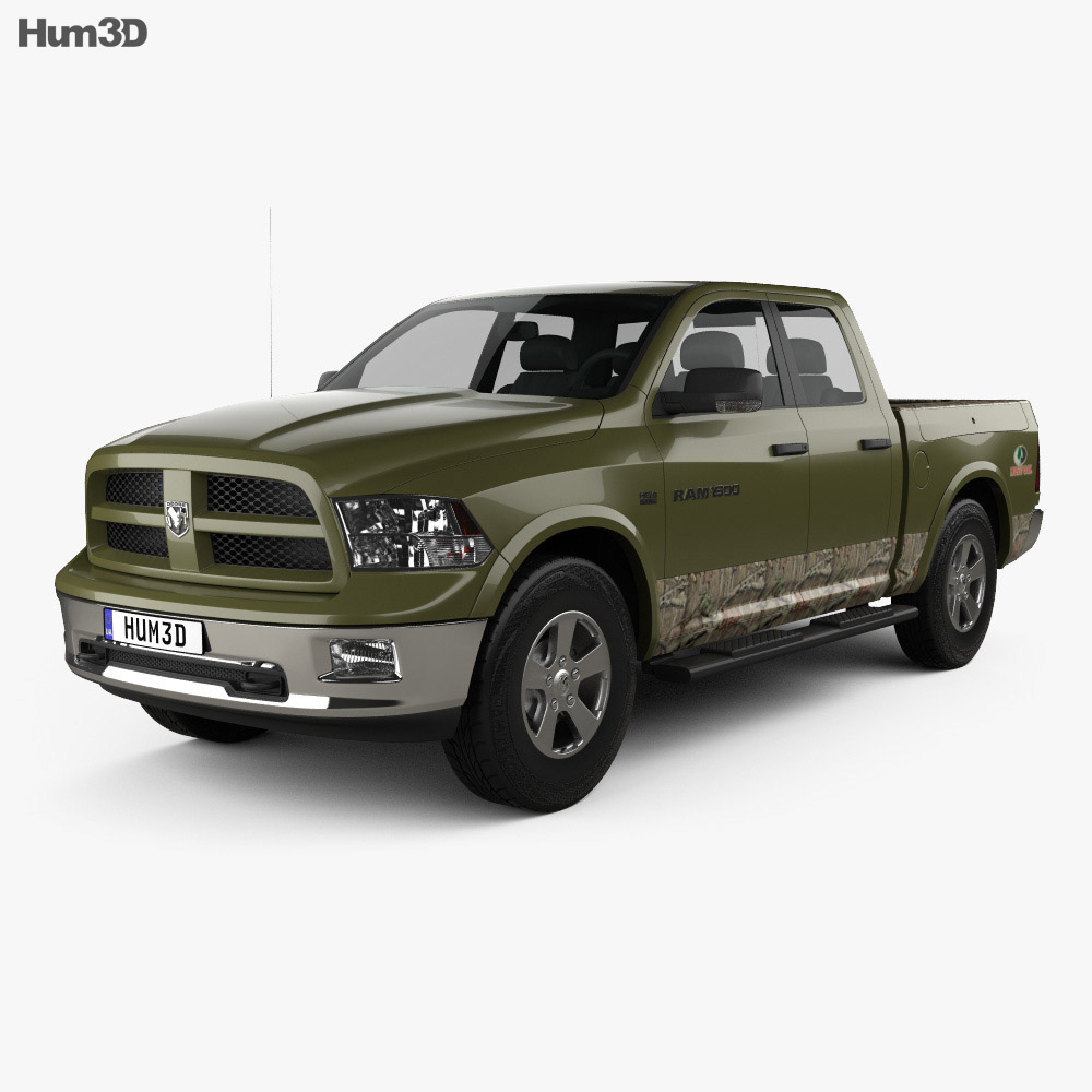 dodge ram 1500 mossy oak edition 2014 3d model hum3d. Black Bedroom Furniture Sets. Home Design Ideas