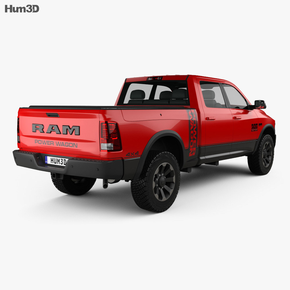 Dodge Ram Power Wagon 2017 3d model
