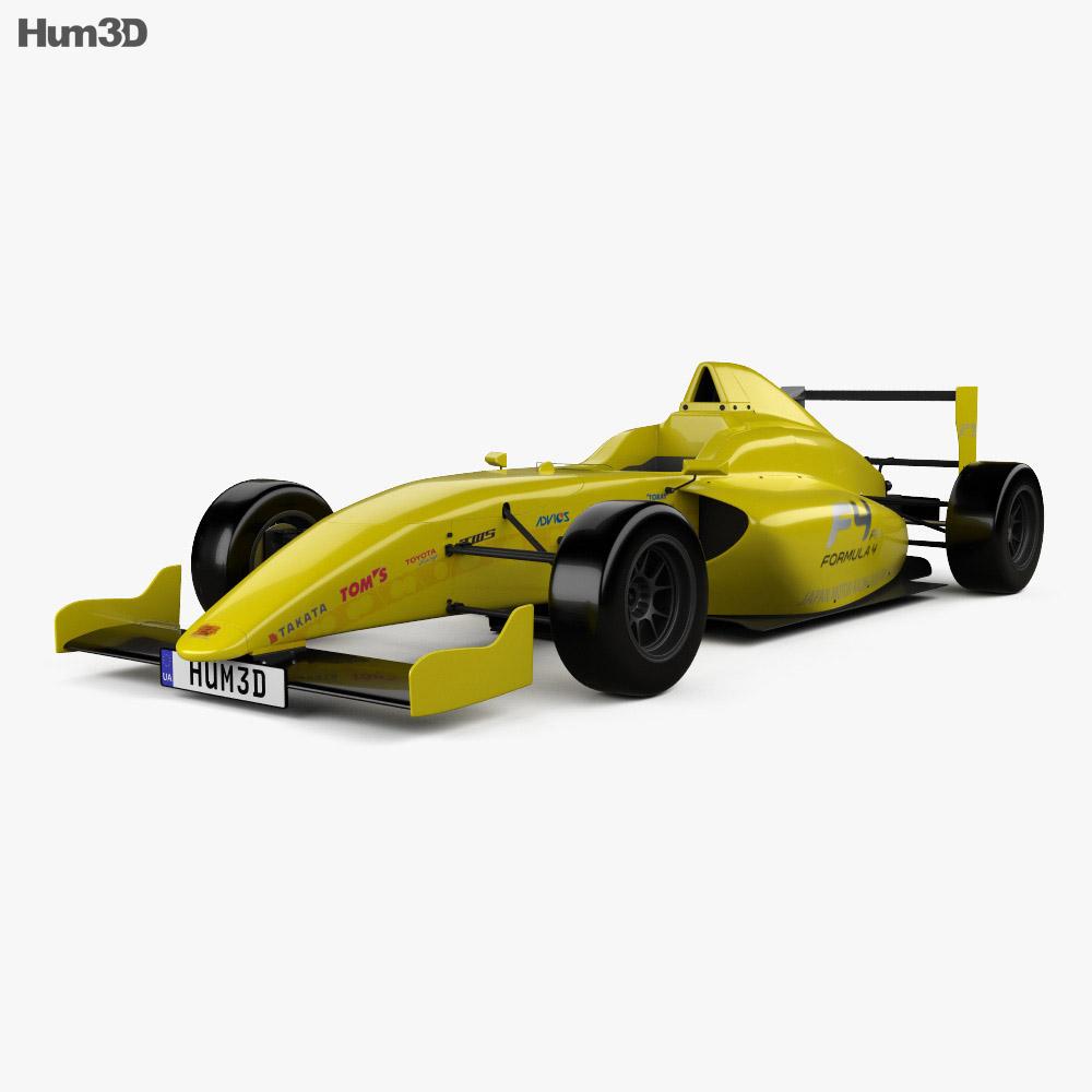 Dome F110 2014 3d model