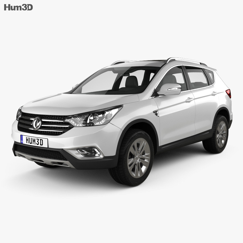 Dongfeng AX7 2015 3d model