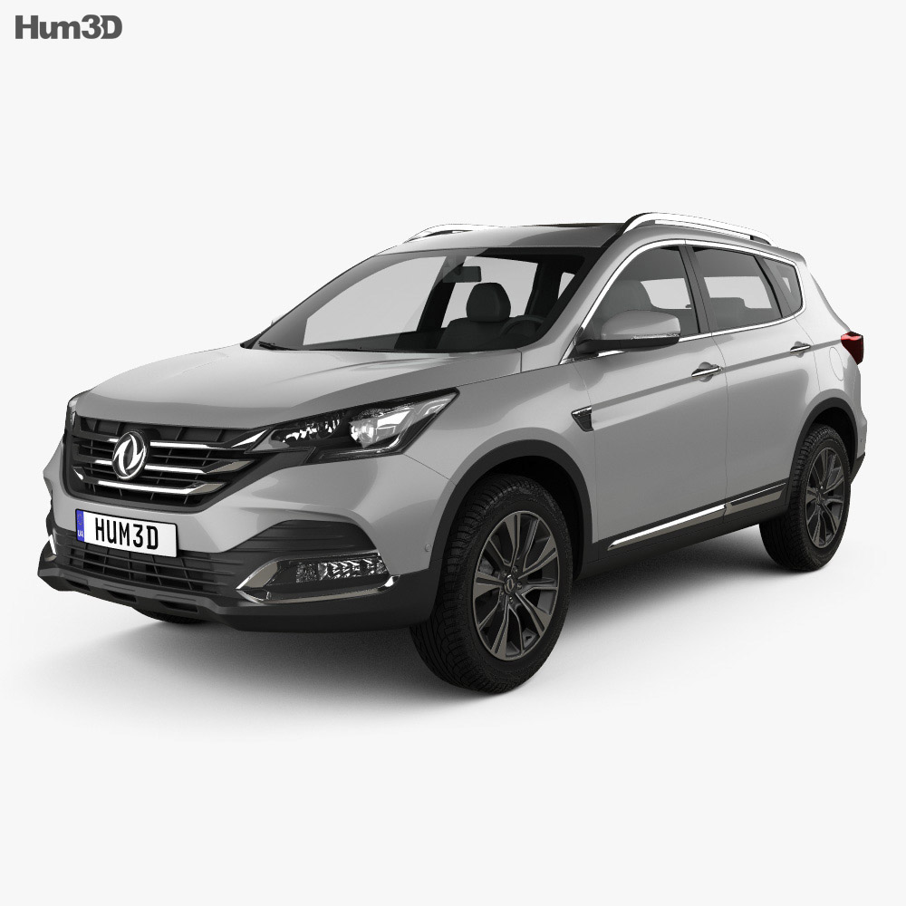 DongFeng AX7 2018 3d model
