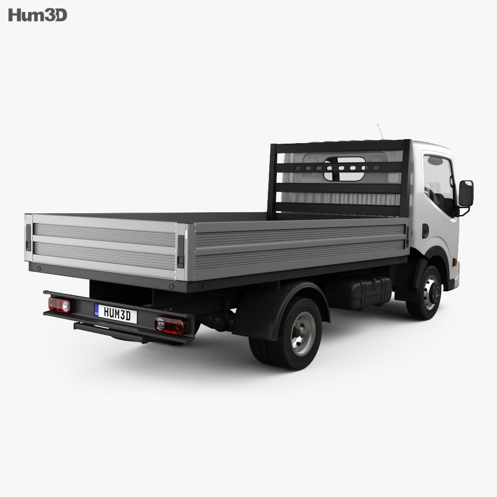 Dongfeng DF Flatbed Truck 2012 3d model