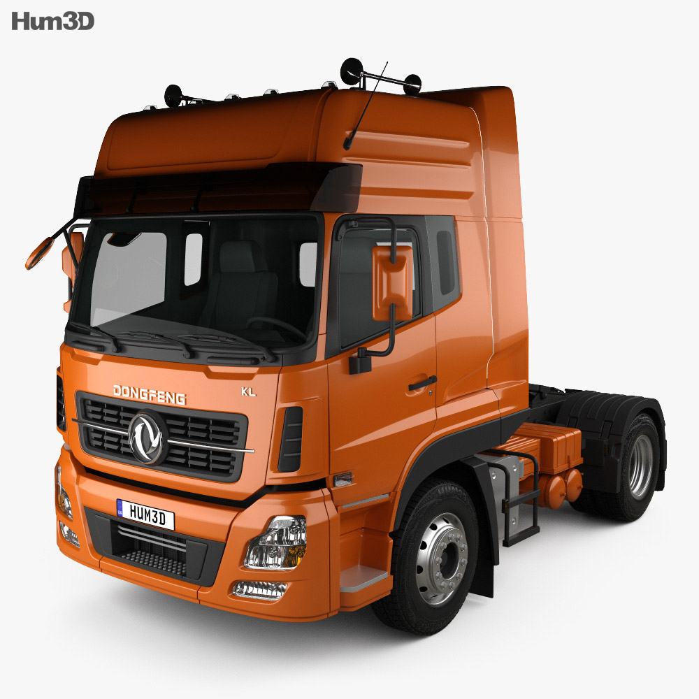 Dongfeng Denon Tractor Truck 2012 3d model