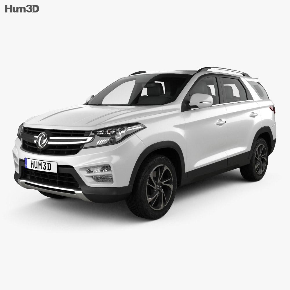 DongFeng Fengxing S560 2018 3d model
