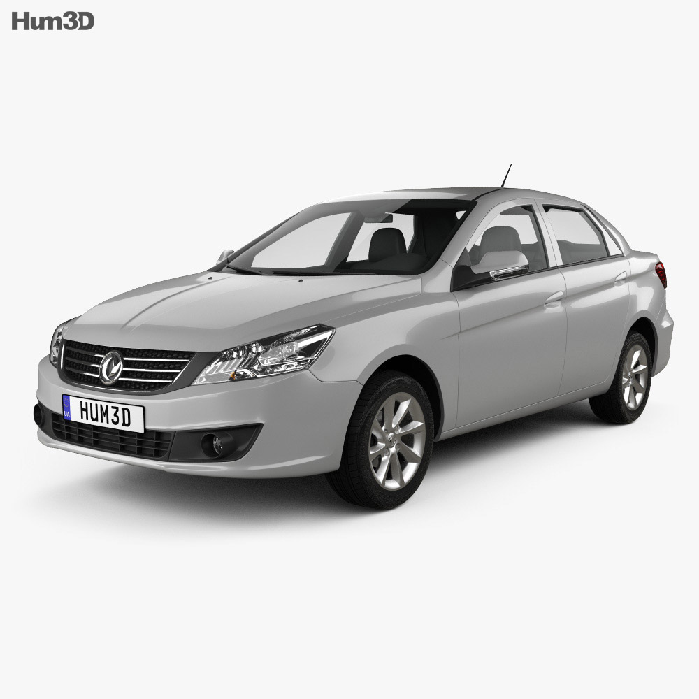 DongFeng S30 2015 3d model