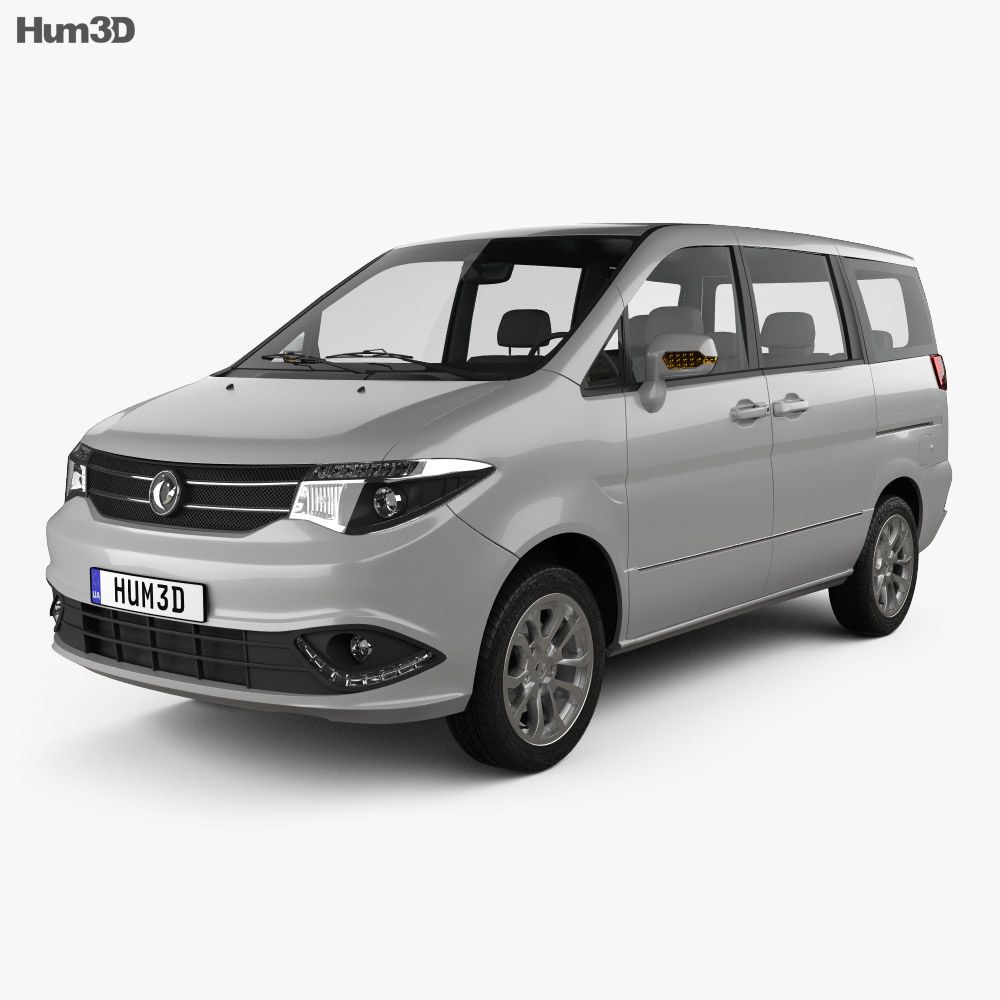 3D model of DongFeng Succe 2015